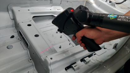 Automotive 3D scanning services