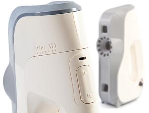 handheld Artec 3D scanner