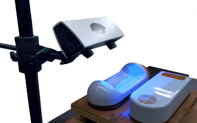 Blue Light 3D scanning services
