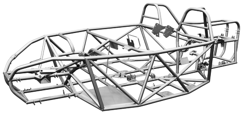 3D car scanning chassis